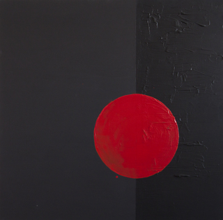 circle VI, 2011  100x100cm, mixed media on canvas