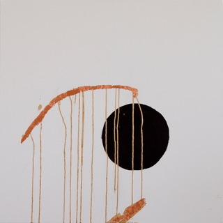 circle V, 2011  90x90cm, mixed media on canvas